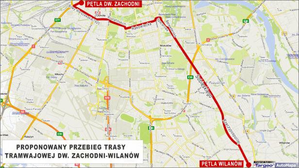 Przebieg trasy targeo.pl