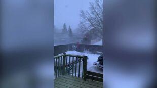 Burza śnieżna z porywami wiatru do 120 kilometrów na godzinę nawiedziła Kanadę