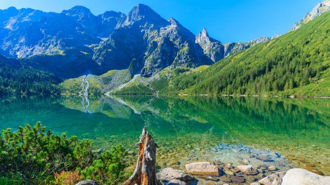 Morskie Oko jednym z najpiękniejszych jezior na świecie