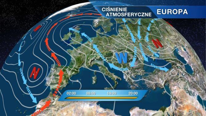 Pozostaniemy pod wpływem zimnego powietrza arktycznego