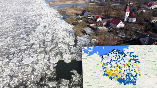 Wzrost temperatury, roztopy, wysoki poziom rzek. Czy grozi nam powódź?