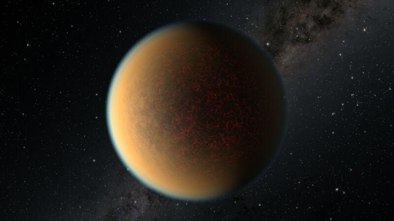 Wizualizacja egzoplanety GJ 1132 b (źródło: NASA, ESA i R. Hurt (IPAC/Caltech))