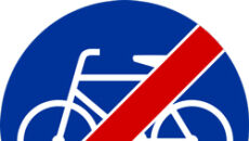 """C-13a (""""koniec drogi dla rowerów"""")"""